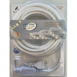 Bandeau LED blanc 5m - IP65