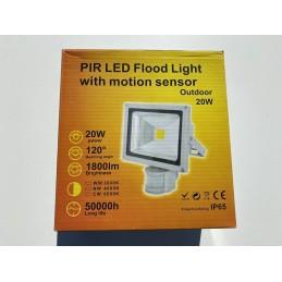 Projecteur LED 20 Watt avec...